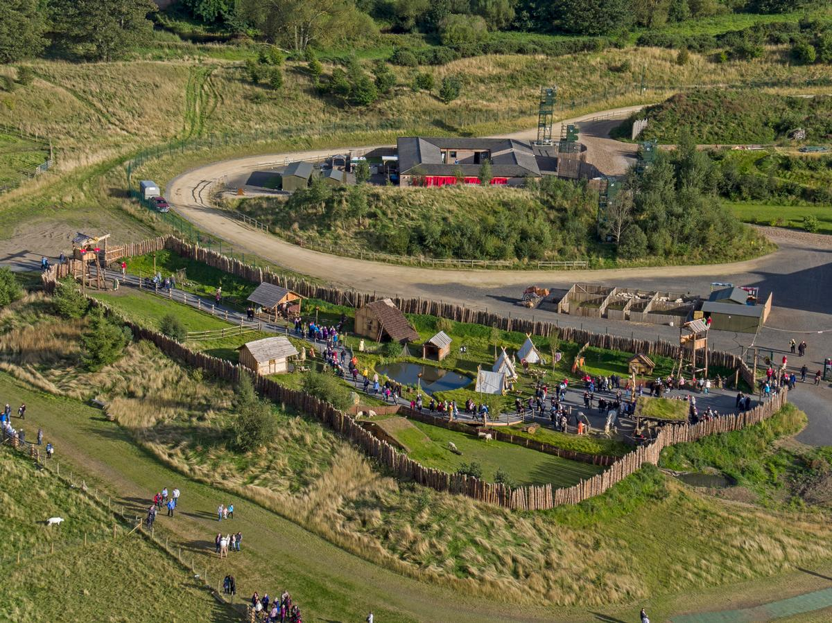 The park will allow visitors to step back in time / Kynren/11Arches