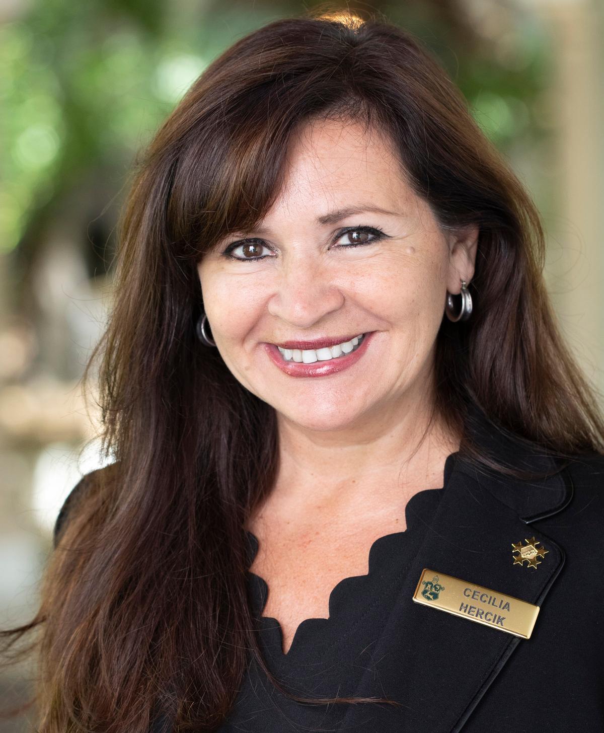 Cecilia Hercik has had a 25-year-career in the spa and wellness industry / Sea Island