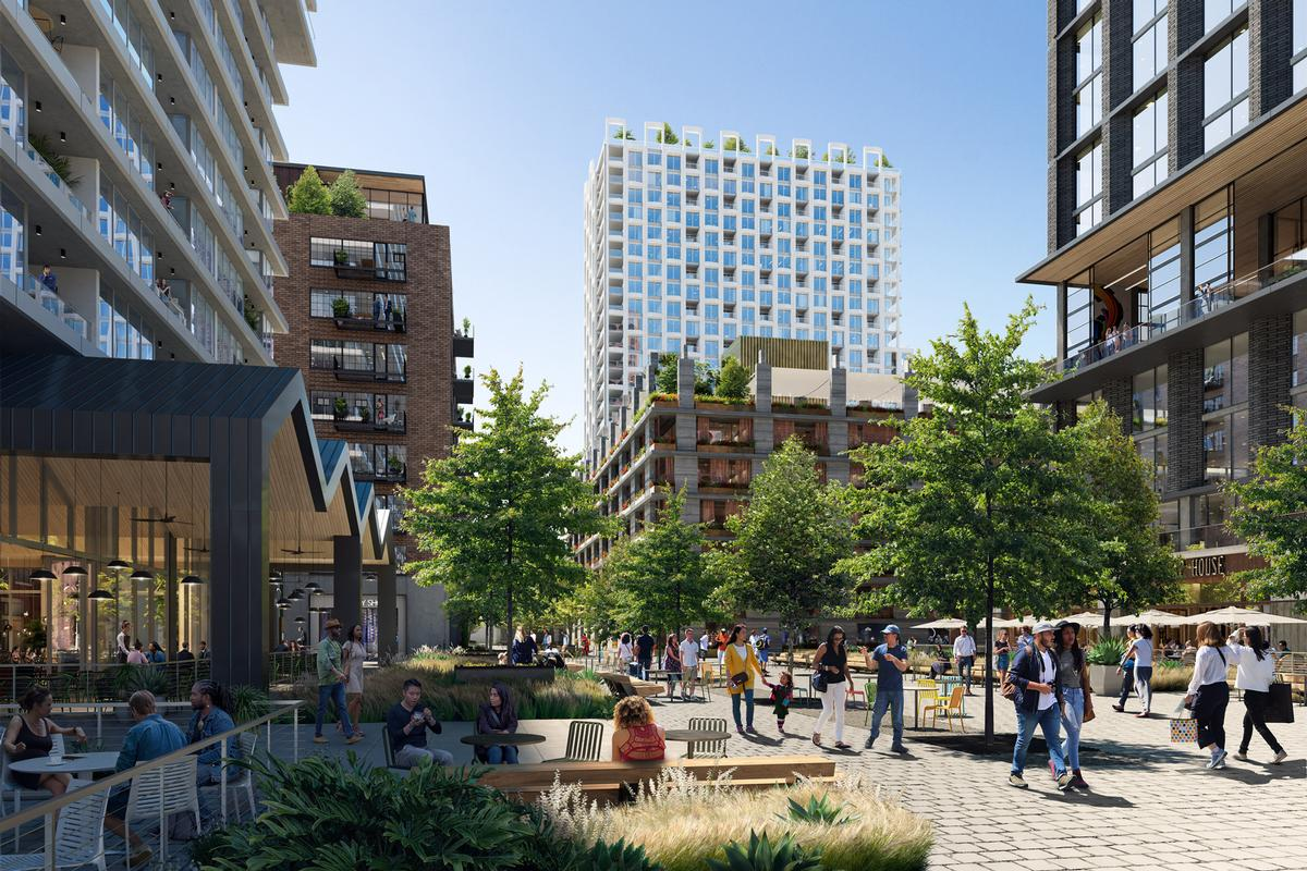 The project is a partnership between Denver-based commercial real estate developer, Continuum Partners and LA Cold Storage / Studio One Eleven