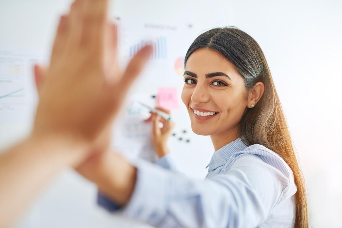 The survey's results will be used to help create resources, programming and more that address the needs of women in wellness leadership roles / Shuttertsock/Flamingo Images