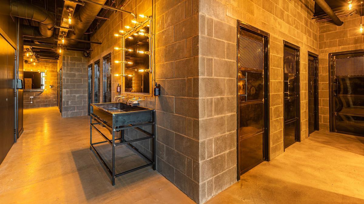 Located in Raeburn Place TRIB3 Edinburgh features industrial-luxe design / TRIB3