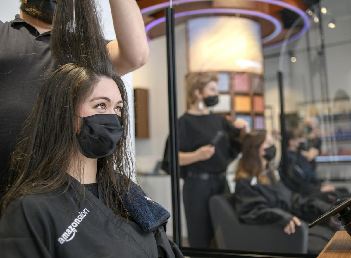 Amazon said the salon is its latest initiative designed to support the professional beauty industry / Amazon