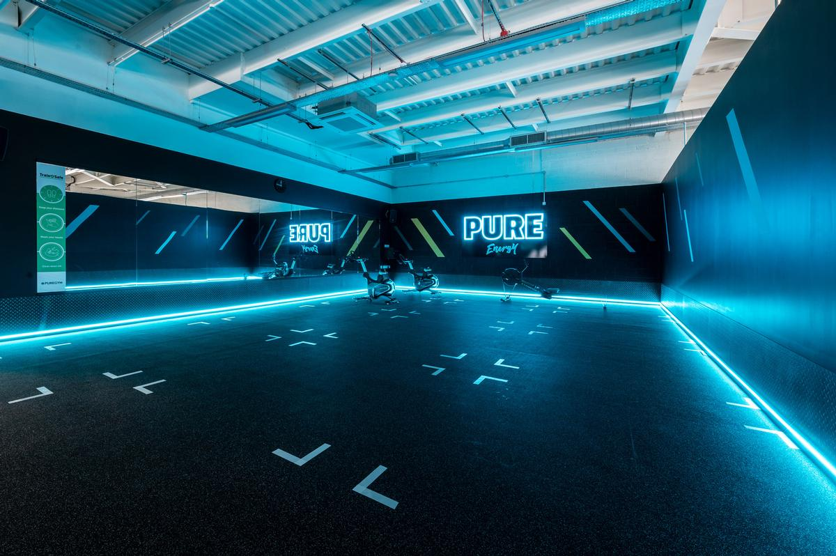 PureGym has opened 13 new clubs since 12 April, including one in Aldershot (pictured) / PureGym