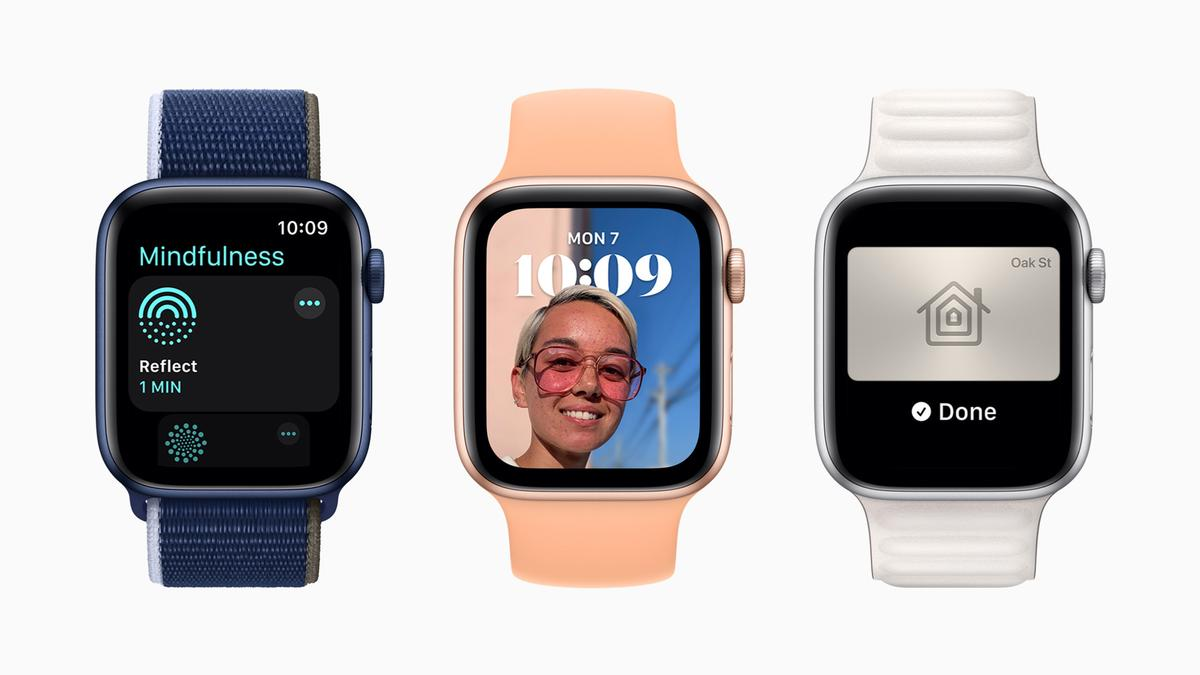 The latest update to the system will add a number of health and wellness features / Apple