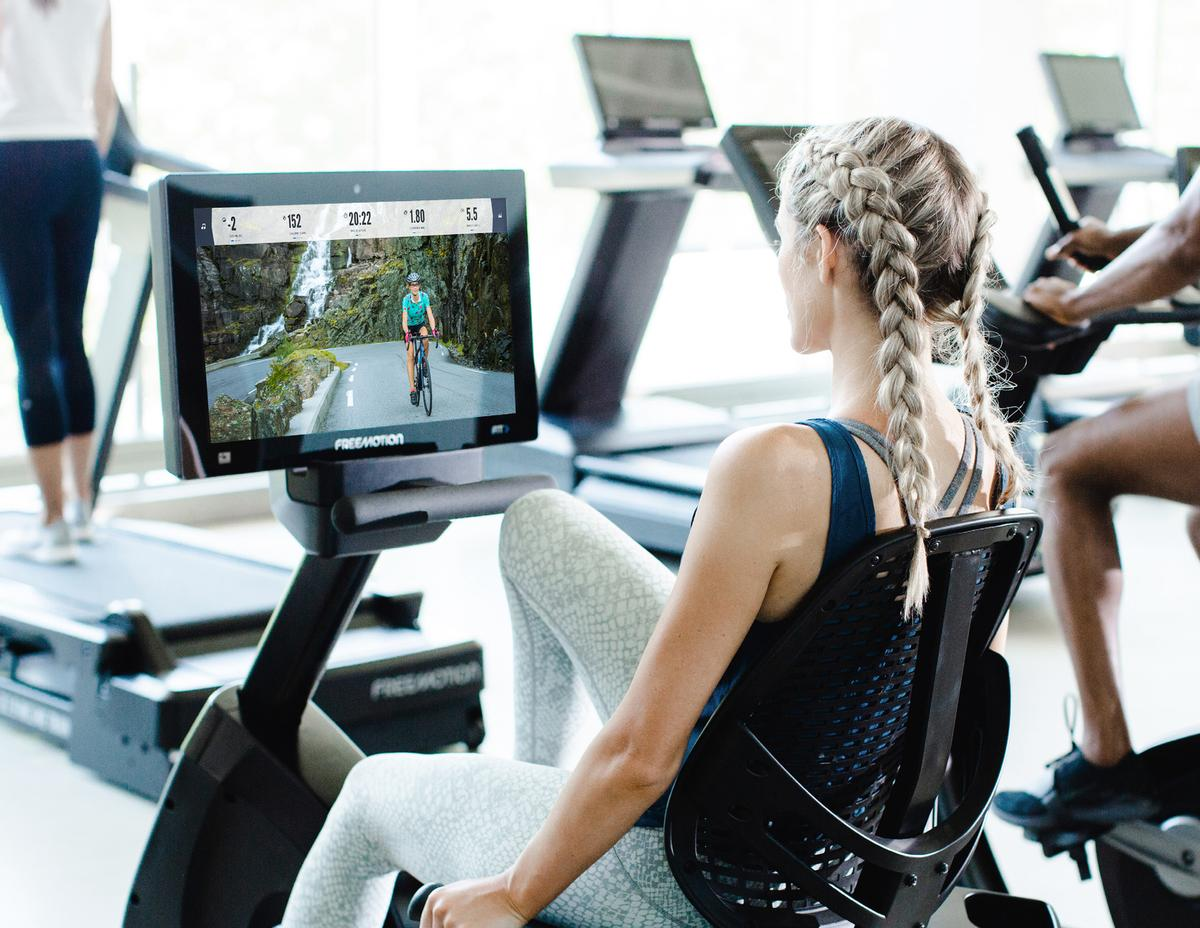 The iFIT platform is available across the group's three equipment brands / Freemotion/iFIT
