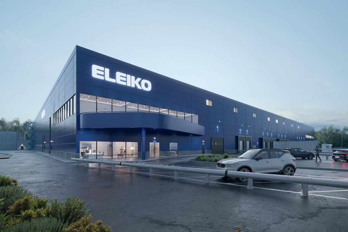 The new 18,000sq m facility will be built on a plot next to Eleiko's headquarters in Kistinge / Eleiko