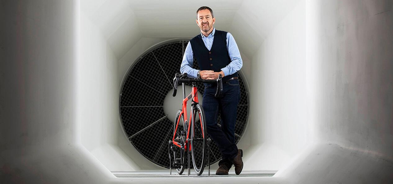 Boardman is one of the UK's most prominent cycling and walking advocates / Sport England