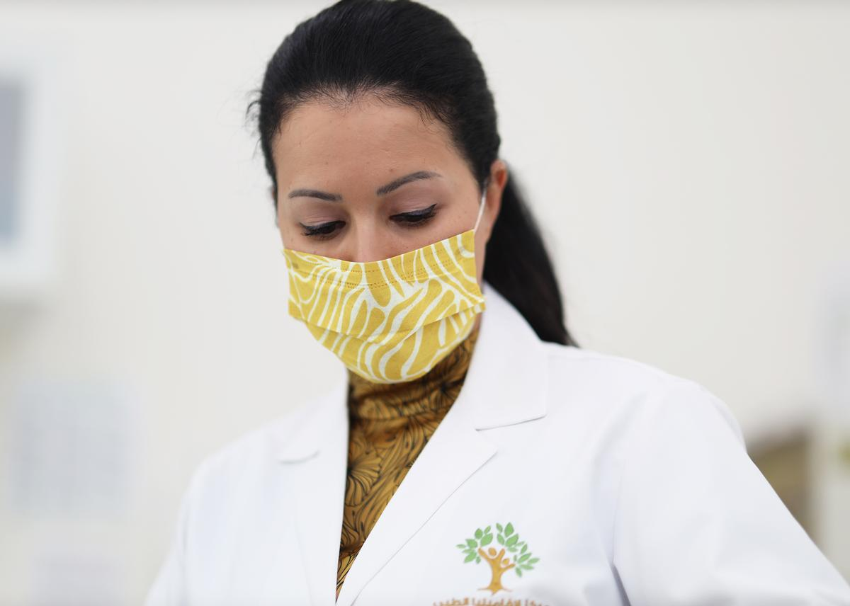 RKF has created the masks for use by spa and hotel staff as well as the general public
