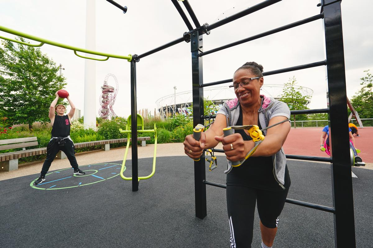 The workouts have been designed to help people address lifestyle diseases / The Great Outdoor Gym Company