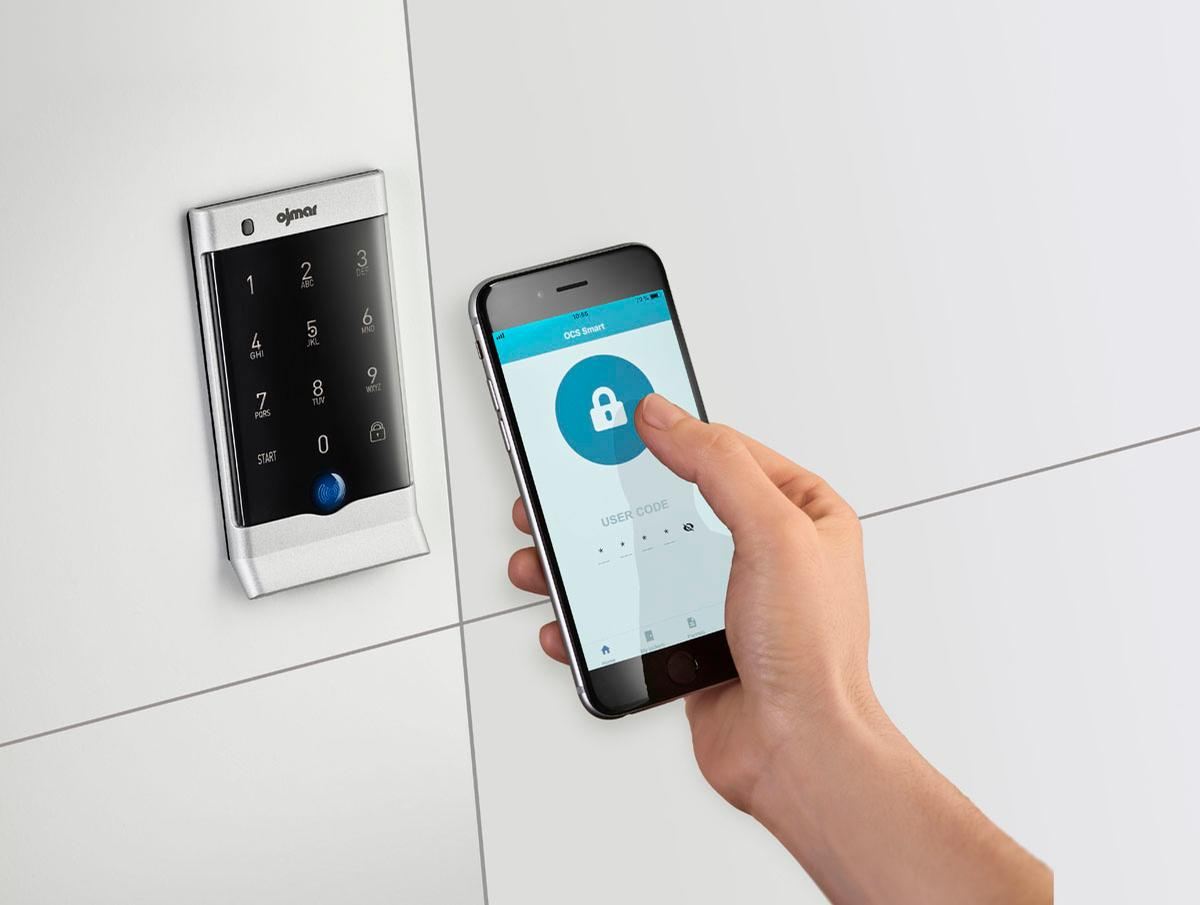 OCS SMART can be controlled via a mobile phone, tablet, or smart watch / Ojmar