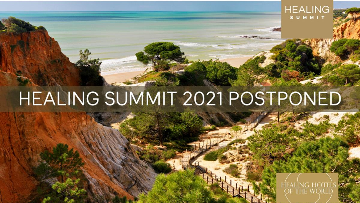 The in-person Healing Summit was originally scheduled to be hosted in Portugal at Pine Cliffs Resort in October 2021, but has since been postponed until May 2022