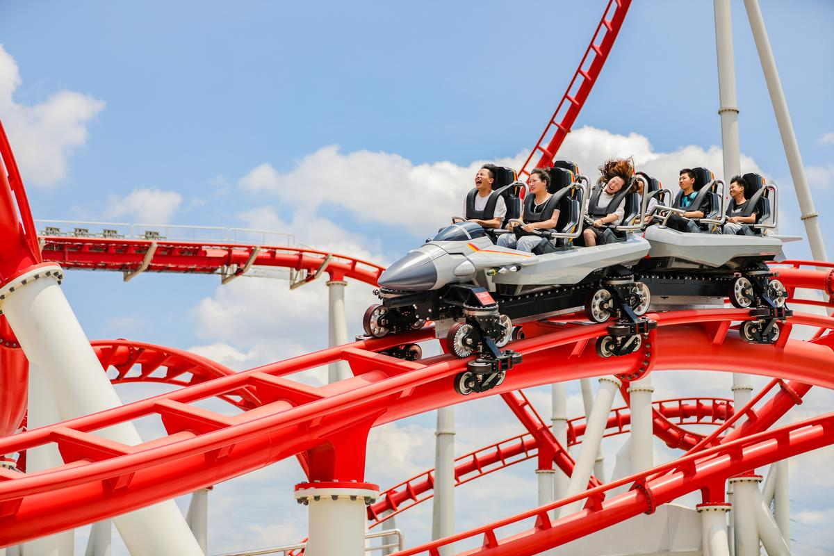 Vekoma Rides' new coaster has now launched