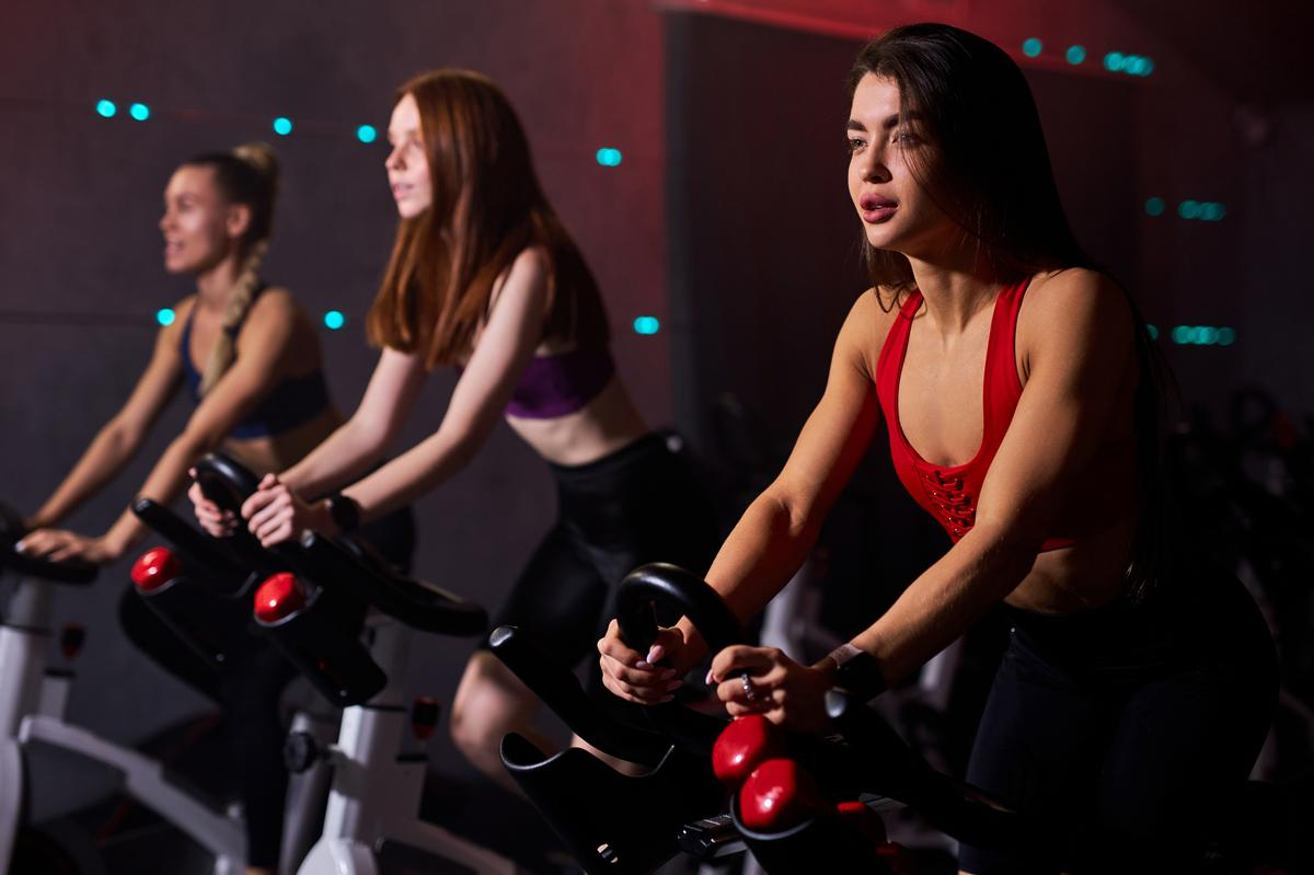 Group workout classes can not feature music that is faster than 120 beats per minute / Shutterstock/UfaBizPhoto