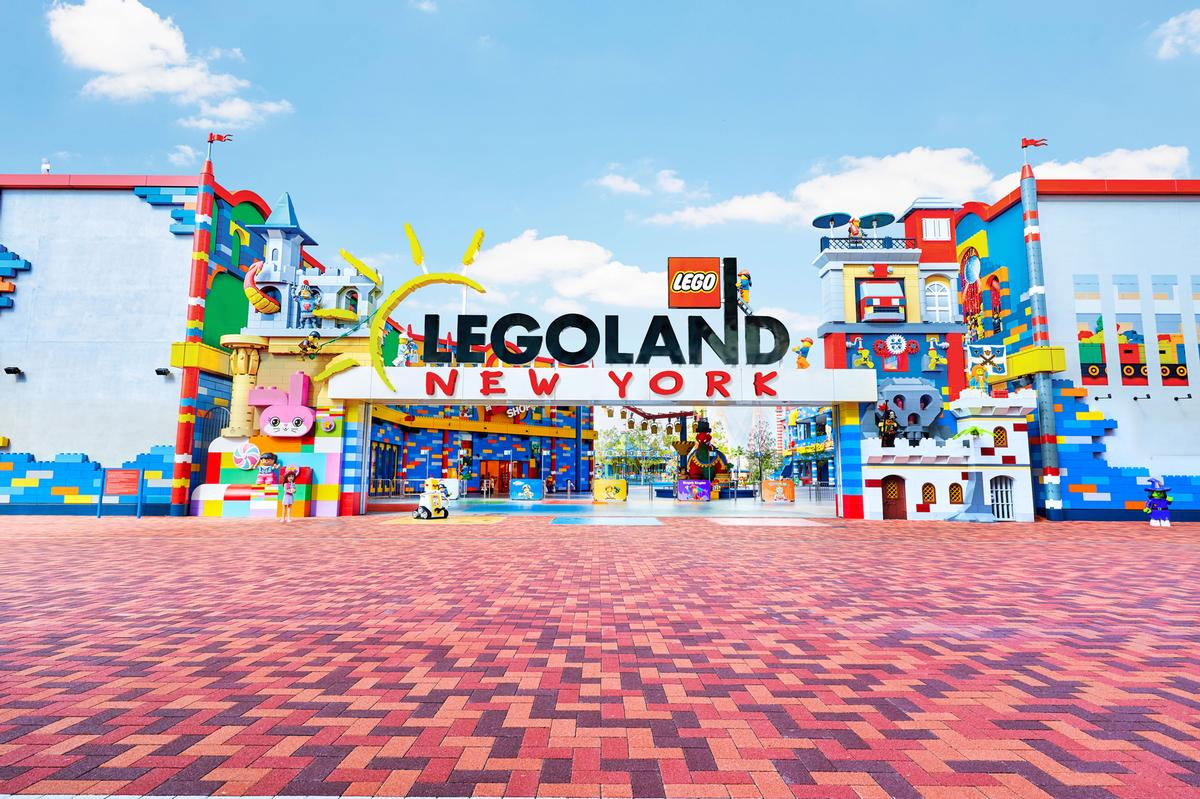 Merlin has opened its much-anticipated Legoland New York Resort / Merlin Entertainments/Legoland