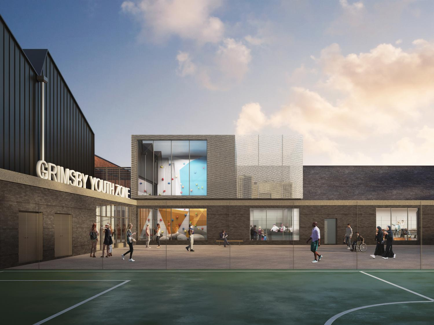 John Puttick Associates creates Youth Zone with fitness, arts, sport and wellbeing spaces