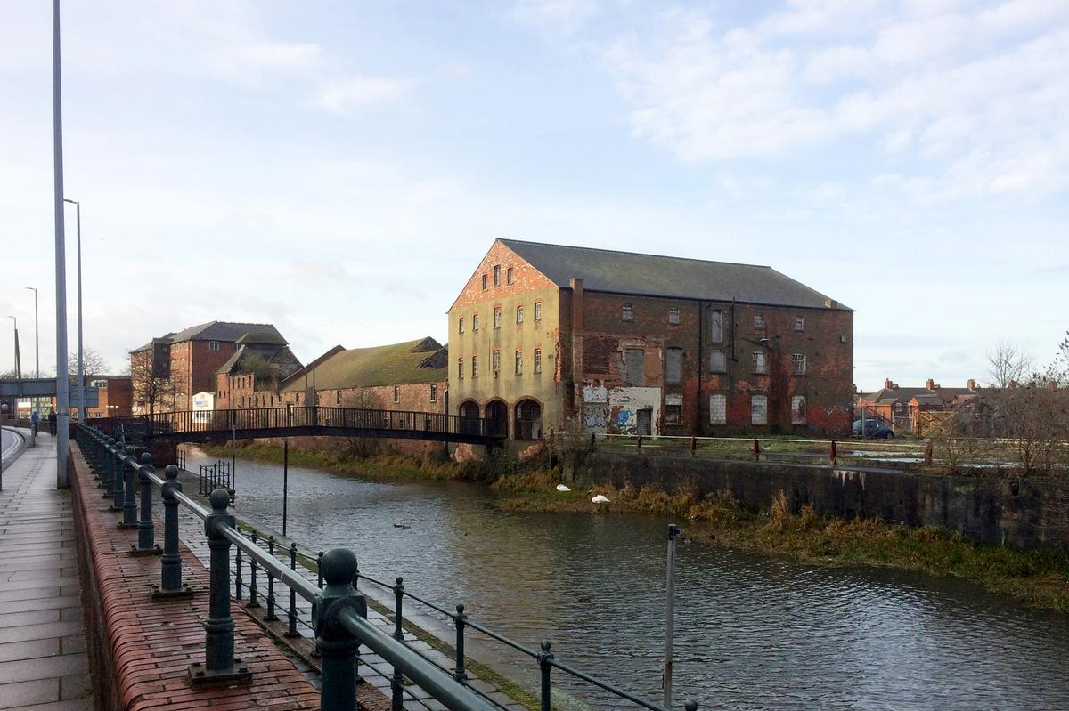 The Grade-II Listed maltings will be redeveloped after standing vacant for many years / John Puttick Associates