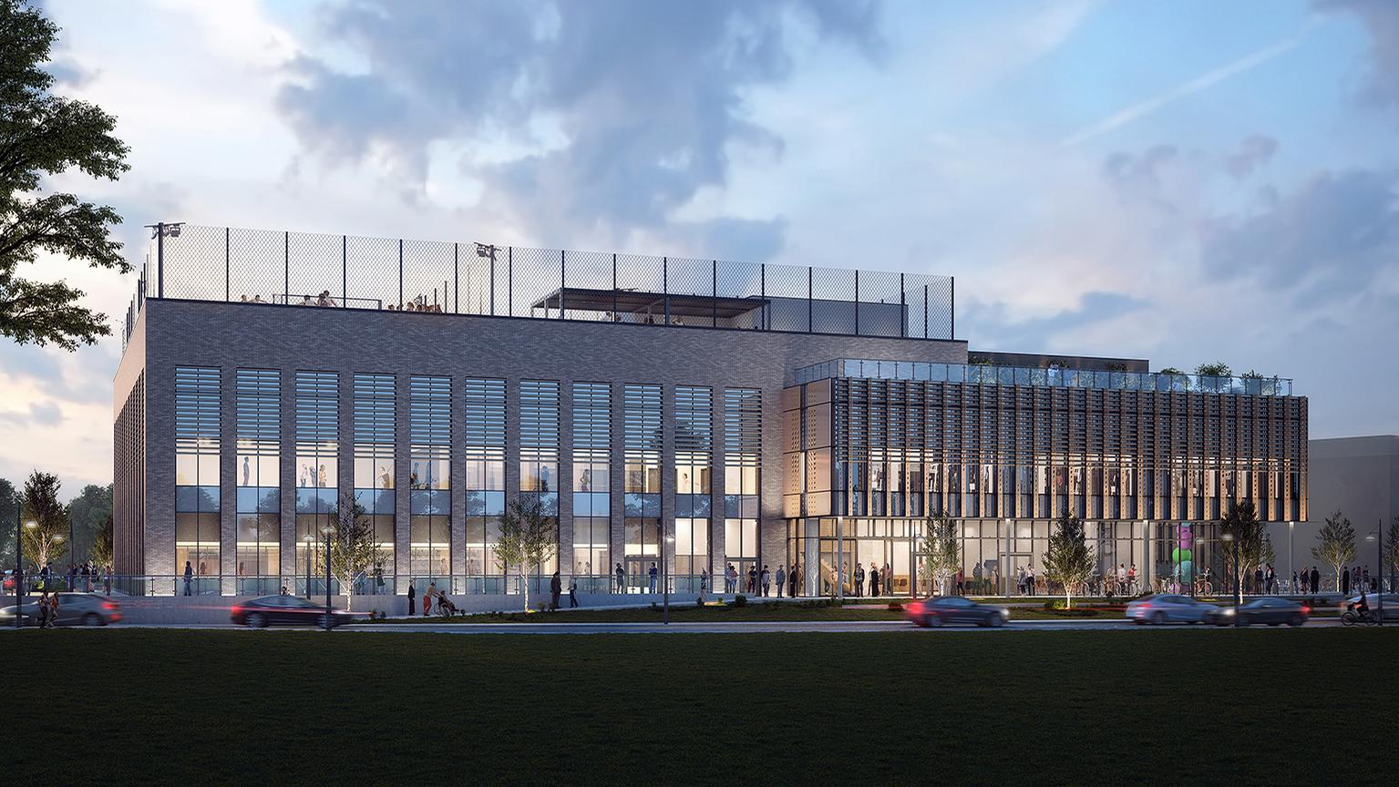 New Passivhaus leisure centre by GT3 Architects will reduce energy costs by 60%