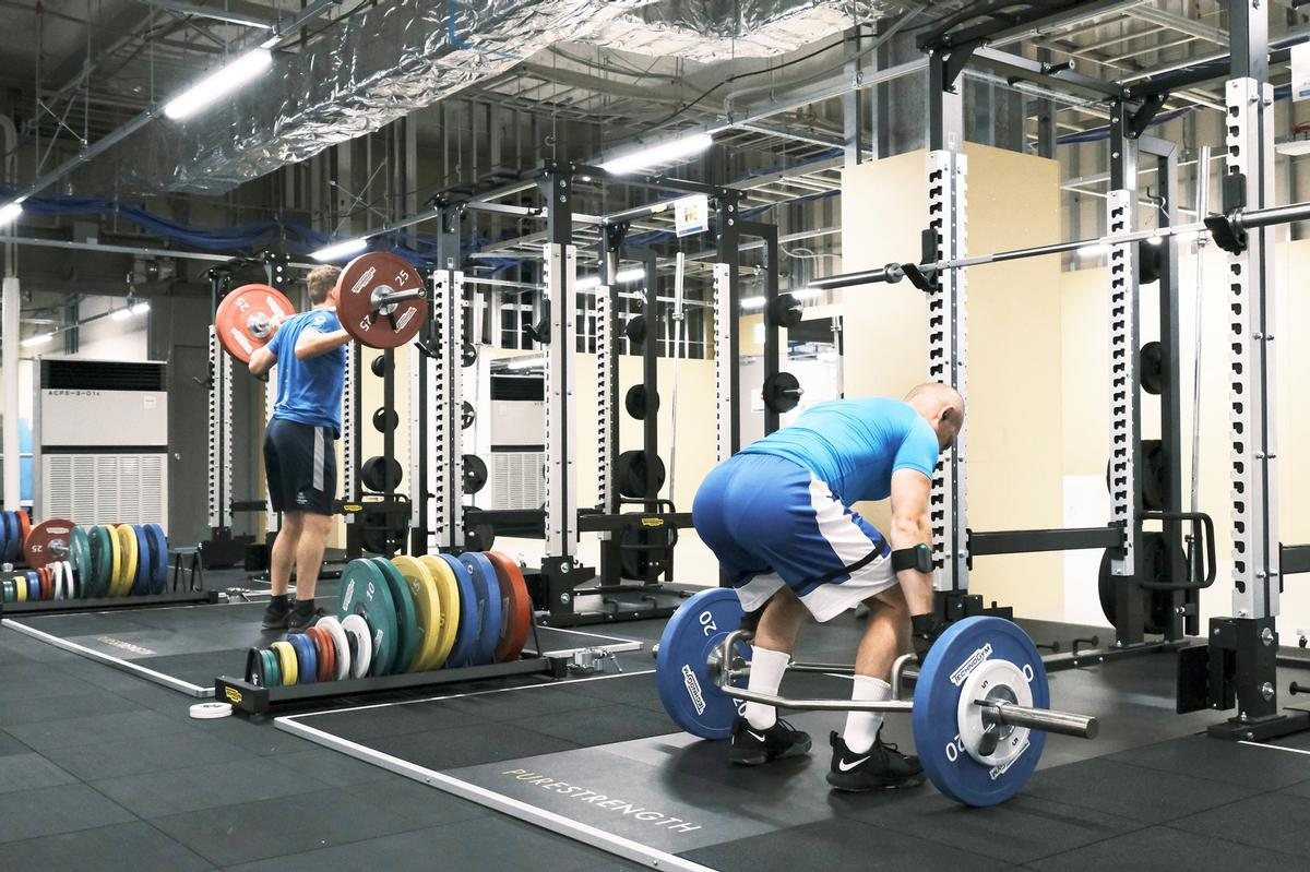 Equipment has been provided to support all 33 Olympic disciplines / Technogym