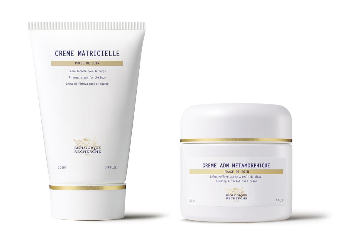 Both creams have been formulated to help firm and tone