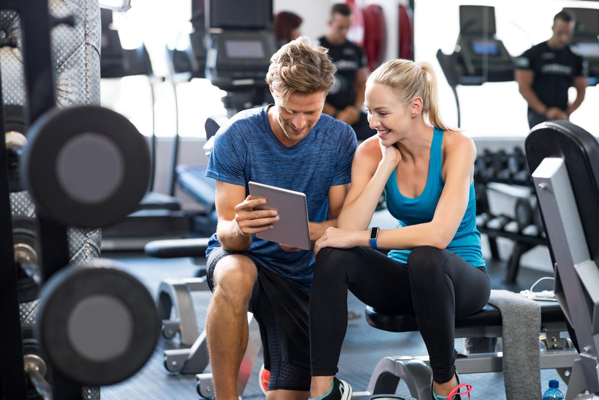 Two thirds (63 per cent) of active women are currently utilising free online workouts / Shutterstock/Rido
