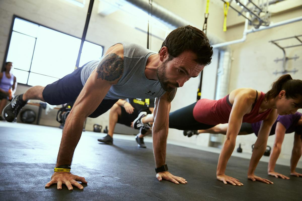 The platform allows PTs and fitness trainers to schedule client appointments directly / TRX