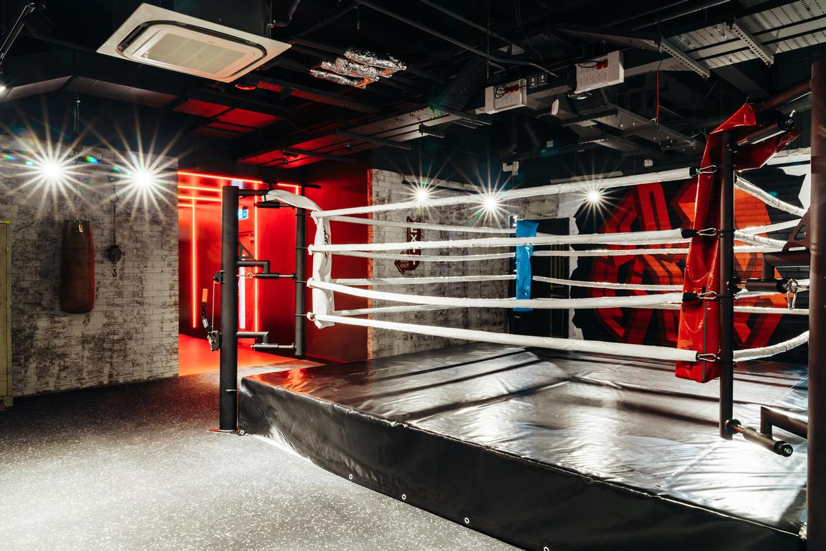 Facilities at the club include a boxing arena / RSG Group/John Reed