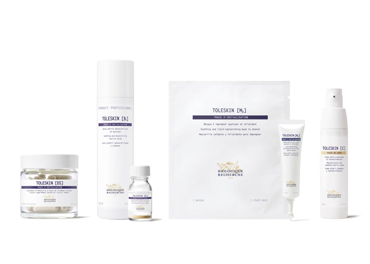 The Toleskin collection encompasses a range of products and treatments to promote wellbeing from both inside and outside the body /