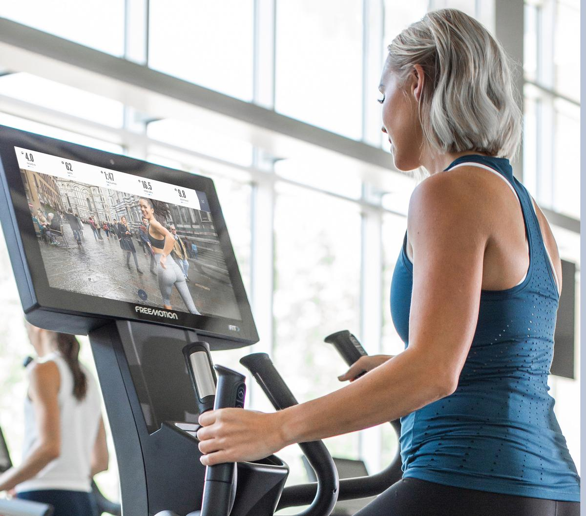 iFIT's equipment brands include Freemotion (pictured), NordicTrack and ProForm / iFIT/Freemotion Fitness