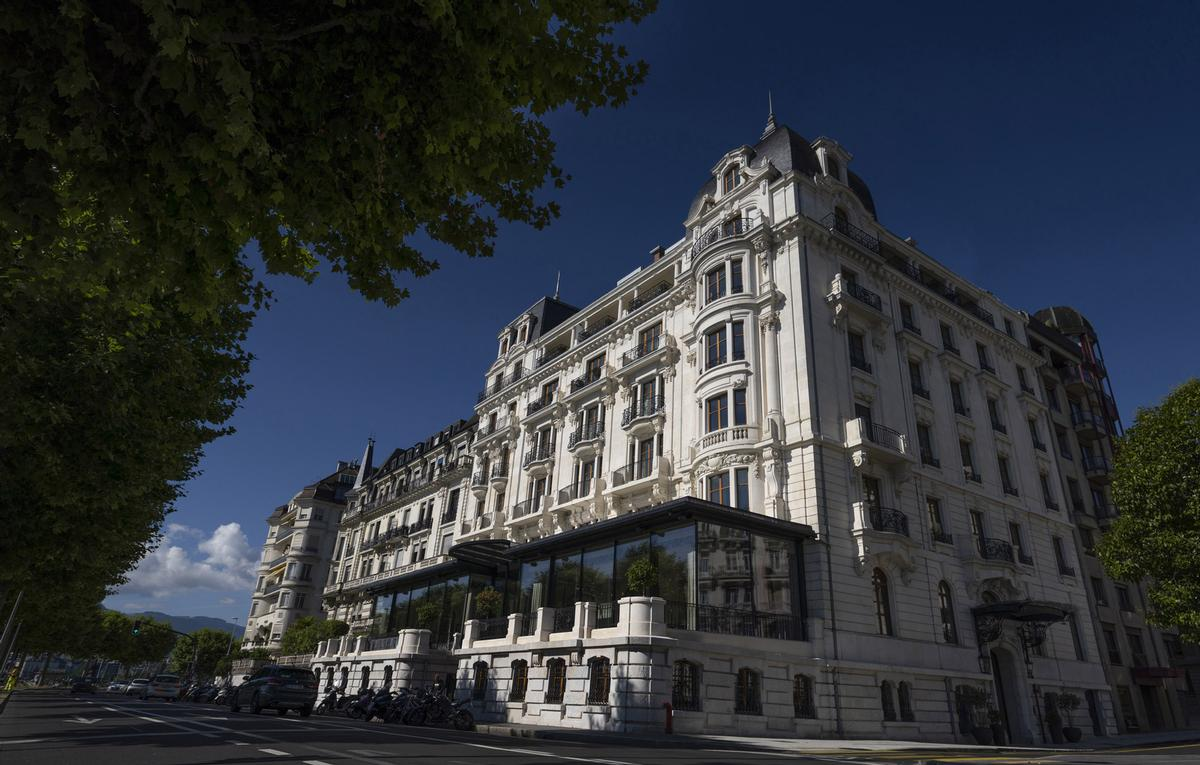 Pierre-Yves Rochon creates The Woodward, a new five-star hotel for the Oetker Collection in Geneva