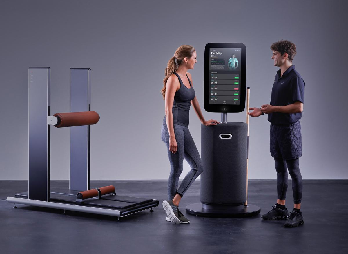 EGYM recently launched its new Fitness Hub, a smart onboarding kiosk and body scanner / Egym