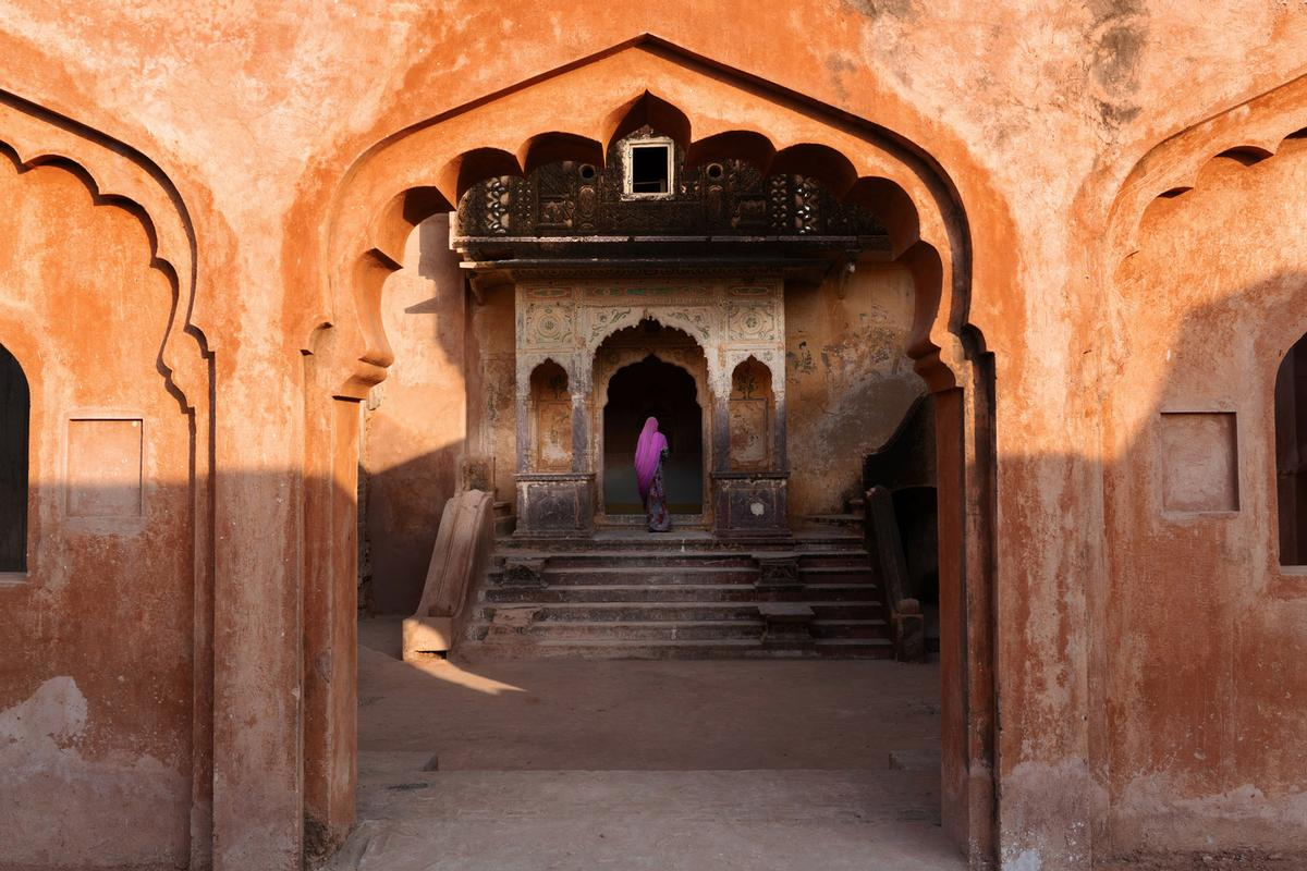 Six Senses Fort Barwara's 2,800sq m spa will be housed within the fort's original women's palace and two temples / Six Senses
