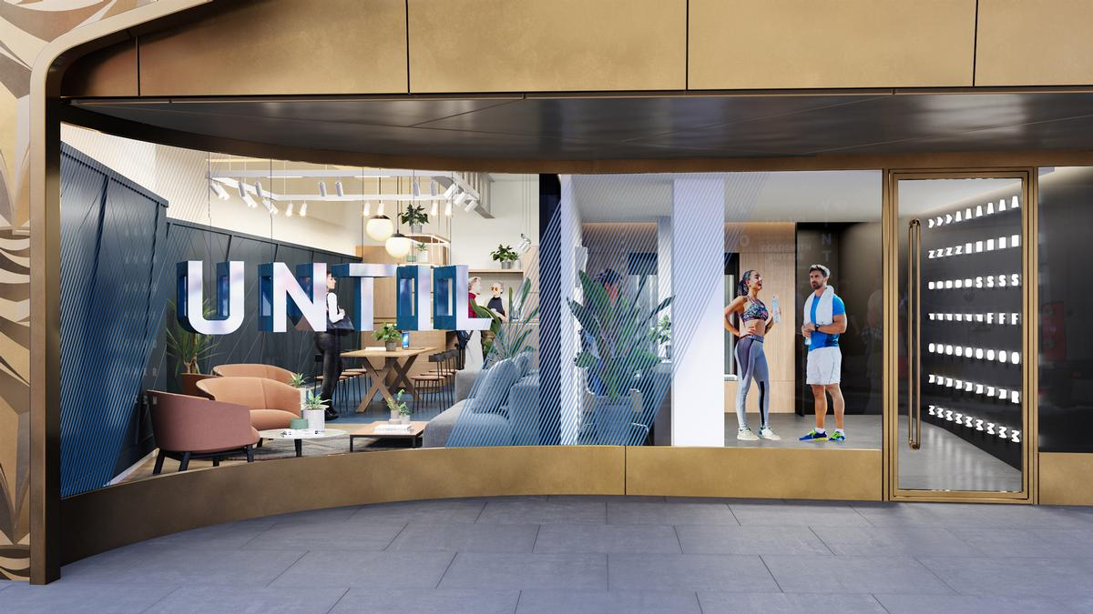 The 8,500sq ft space will provide a shared workspace for wellness professionals / Until