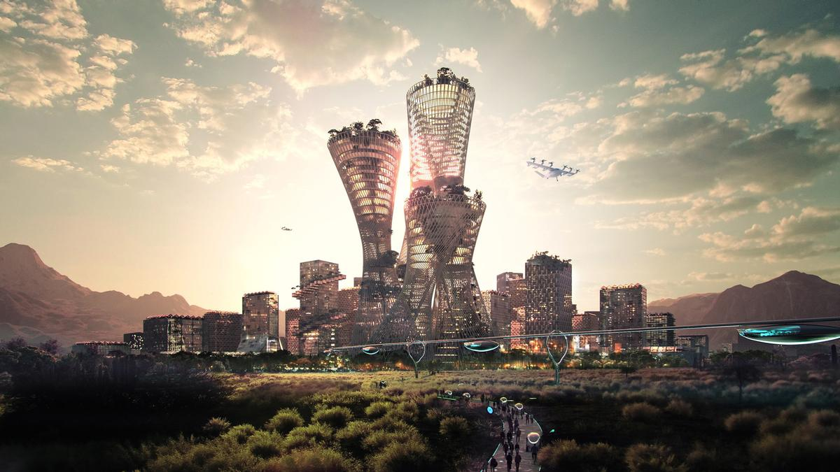 The US$400bn city could be home for up to 5 million people / Telosa/Junto Group/Bjarke Ingels/Marc Lore