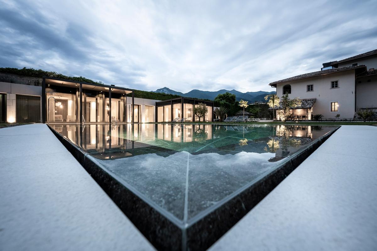 noa* sensitively transforms 17th-century monastic garden into wellness haven