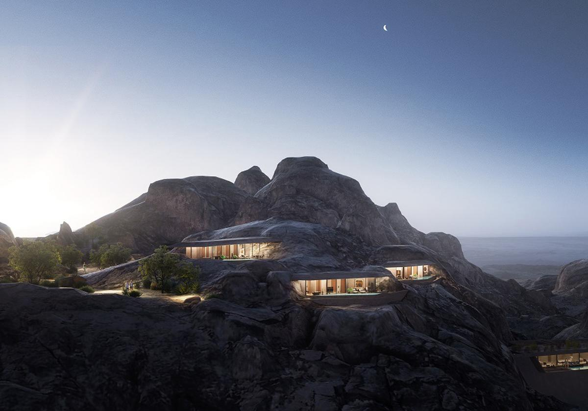 The remote desert resort will be home to world-class spa and fitness facilities / The Red Sea Project