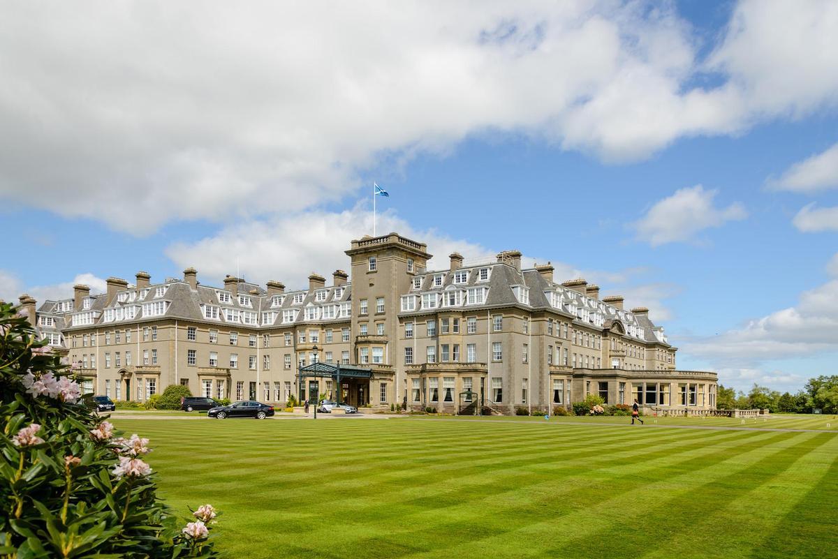 The Gleneagles country estate in Perthshire, Scotland / Shutterstock/cornfield