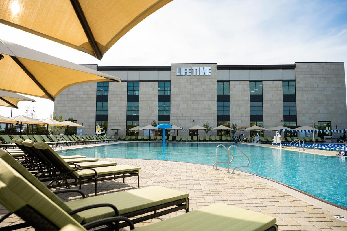 The group operates 150 Life Time athletic resort destinations in the US and Canada / Life Time