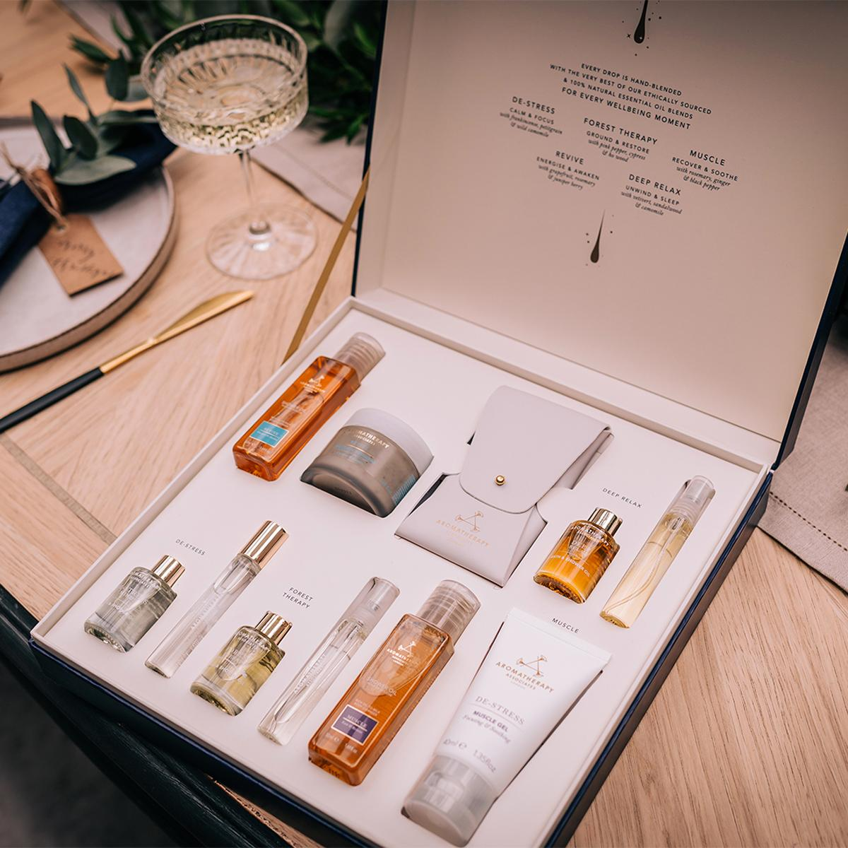 The Our Favourite Moments set is designed to help new customer explore the brand's best-selling blends for the first time, including Revive, Relax, De-Stress, Forest Therapy and Muscle