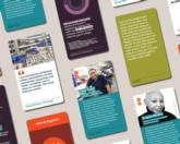 We Design Conversation Cards feature topics for discussion / Design Museum Everywhere