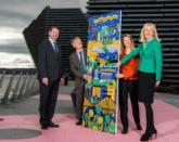 The trail was launched by Tourism Minister Ivan McKee (second from left) and VisitScotland / VisitScotland