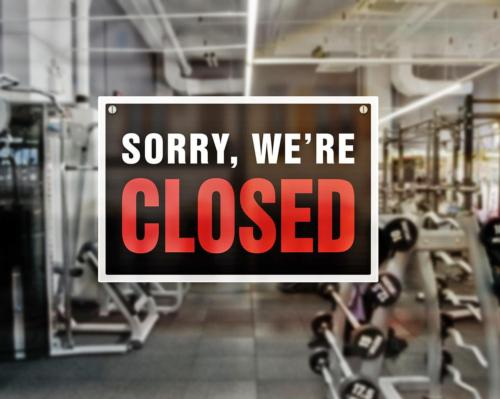 The lockdown will keep gyms, sports facilities and leisure centres closed 'until at least mid-February'