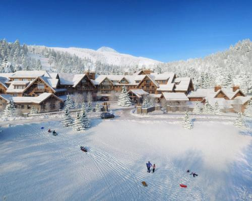 The location will have easy access to the US' second-largest ski resort – called Big Sky Resort – offering 5,800 skiable acres