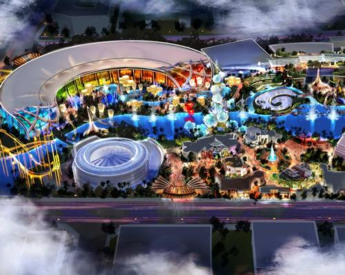 Covering an area of 651 acres, the CNY16.4bn Enlight Movie World will include a theme park based on Enlight IP