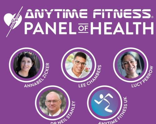 The panel consists of four experts across nutrition, sleep, mental wellbeing, work-life balance and social environment / Anytime Fitness