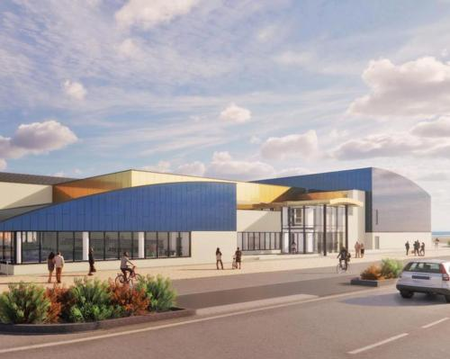 Owned by Great Yarmouth Borough Council, the centre will be developed as a catalyst for further investment and seafront regeneration in the town / Morgan Sindall