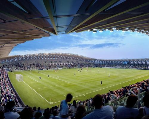 World's first entirely wooden stadium approved for use by EFL