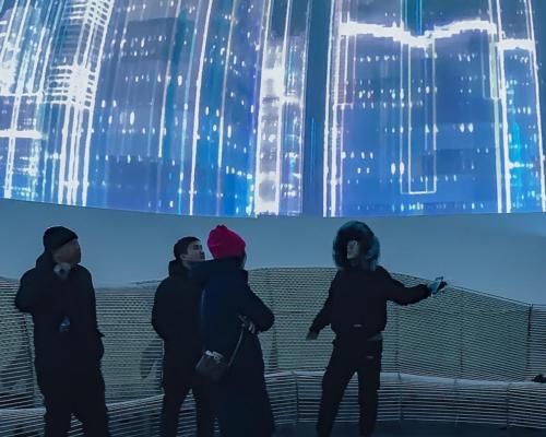 Christie laser projectors power new Five Senses Bubble dome theatre