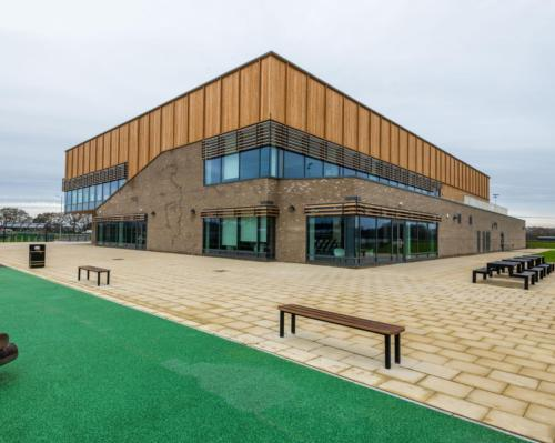 As well as outdoor sports, the facility also houses a large health club fitness suite equipped by Technogym / R G Carter/Northern Gateway