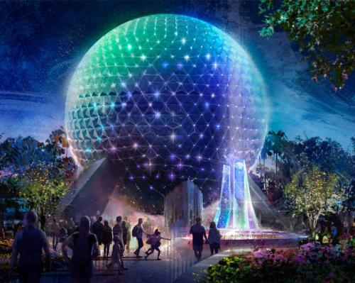The iconic Spaceship Earth attraction has become the symbol of EPCOT