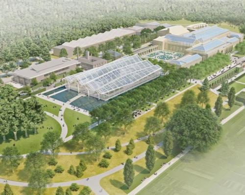 The US$250m project will transform the historic attraction / Longwood Gardens